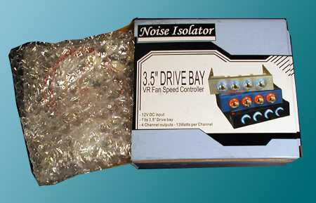 noise isolator product packging