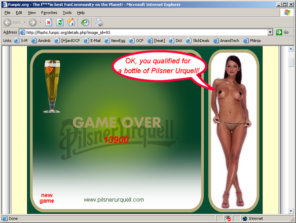pilsner urquell game all pics