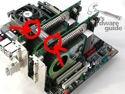 how to connect nvidia sli