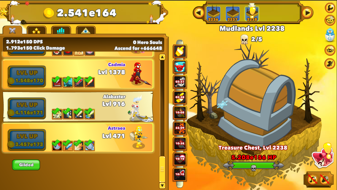 New clicker game: Clicker Heroes - Page 2 — Icrontic