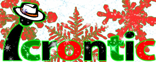 Icrontic Christmas logo