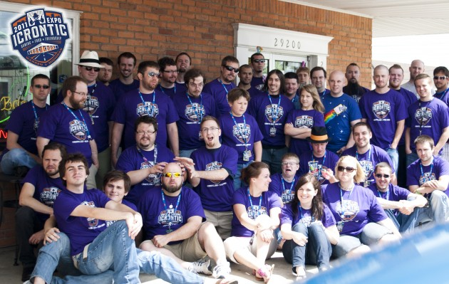 Expo Icrontic 2011 group photo