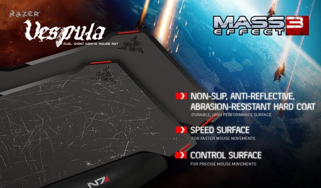 Mass Effect 3 Razer Mouse Pad