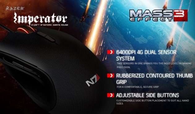 Mass Effect 3 Razer Mouse