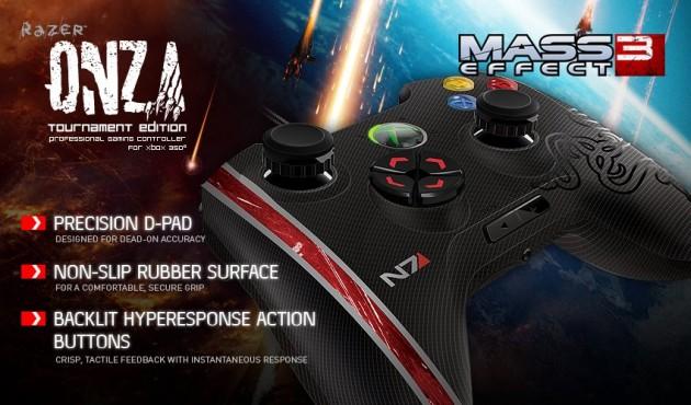 Mass Effect 3 Razer Xbox Controller