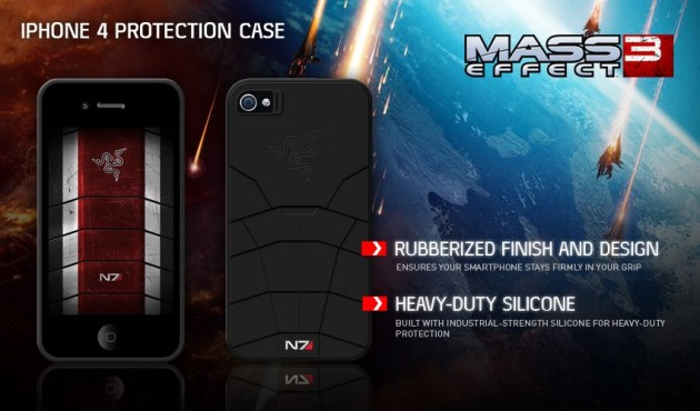 Mass Effect 3 Razer iPhone Cover