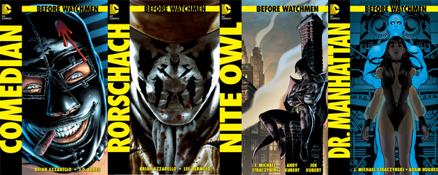 Before Watchmen covers