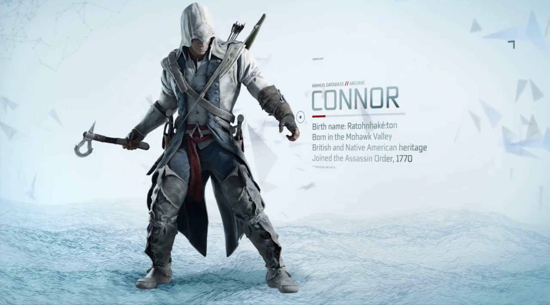 new assassin�s creed iii trailer meet connor 171 icrontic