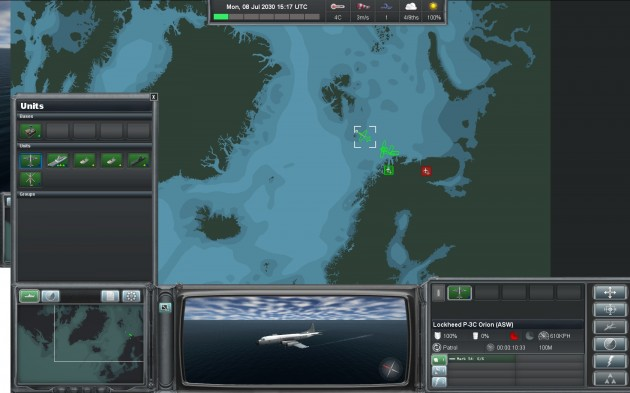 Naval War: Arctic Circle overview map