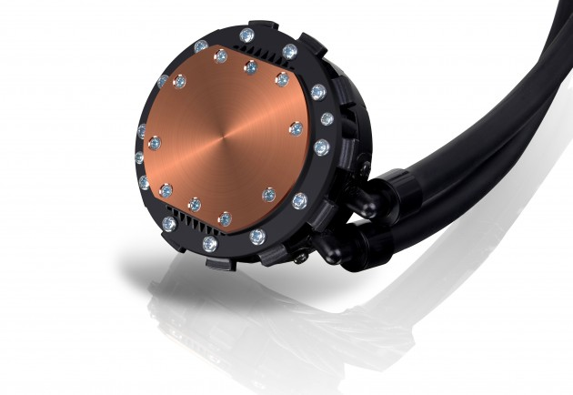 Thermaltake Water2.0 cooler copper contact