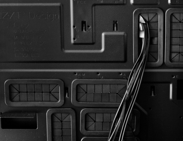 NZXT Switch 810 review motherboard tray