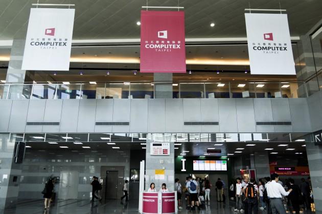 Computex Taipei 2012 世貿南港館 Nangang main entrance