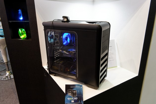 GELID Darkforce Case at Computex
