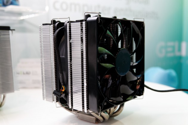 GELID GX-7 7-heatpipe CPU cooler at Computex 2012