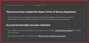 VAC Banned for duplicating items in TF2