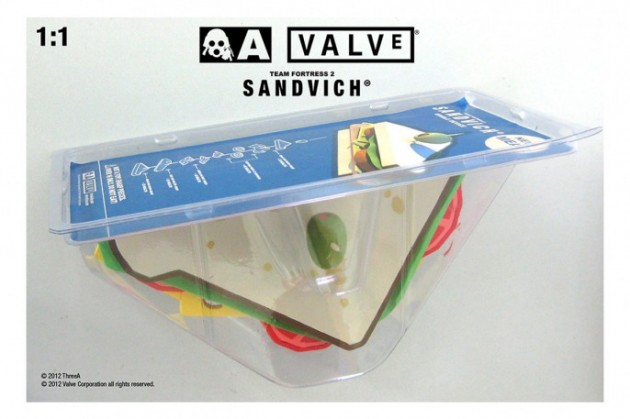 Team Fortress 2 Sandvich Toy from ThreeA