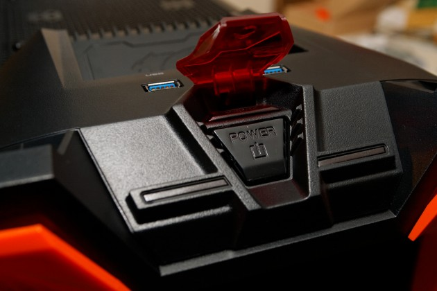Cougar Challenger switch lid