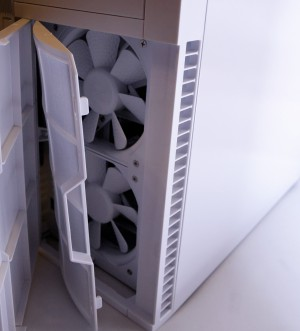 Silverstone PS07 Review front panel