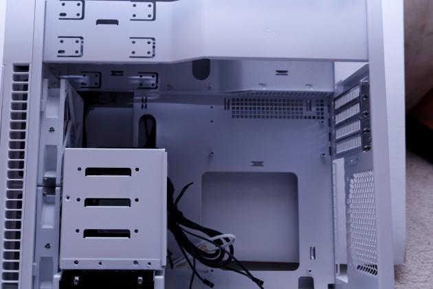 SilverStone PS07 interior