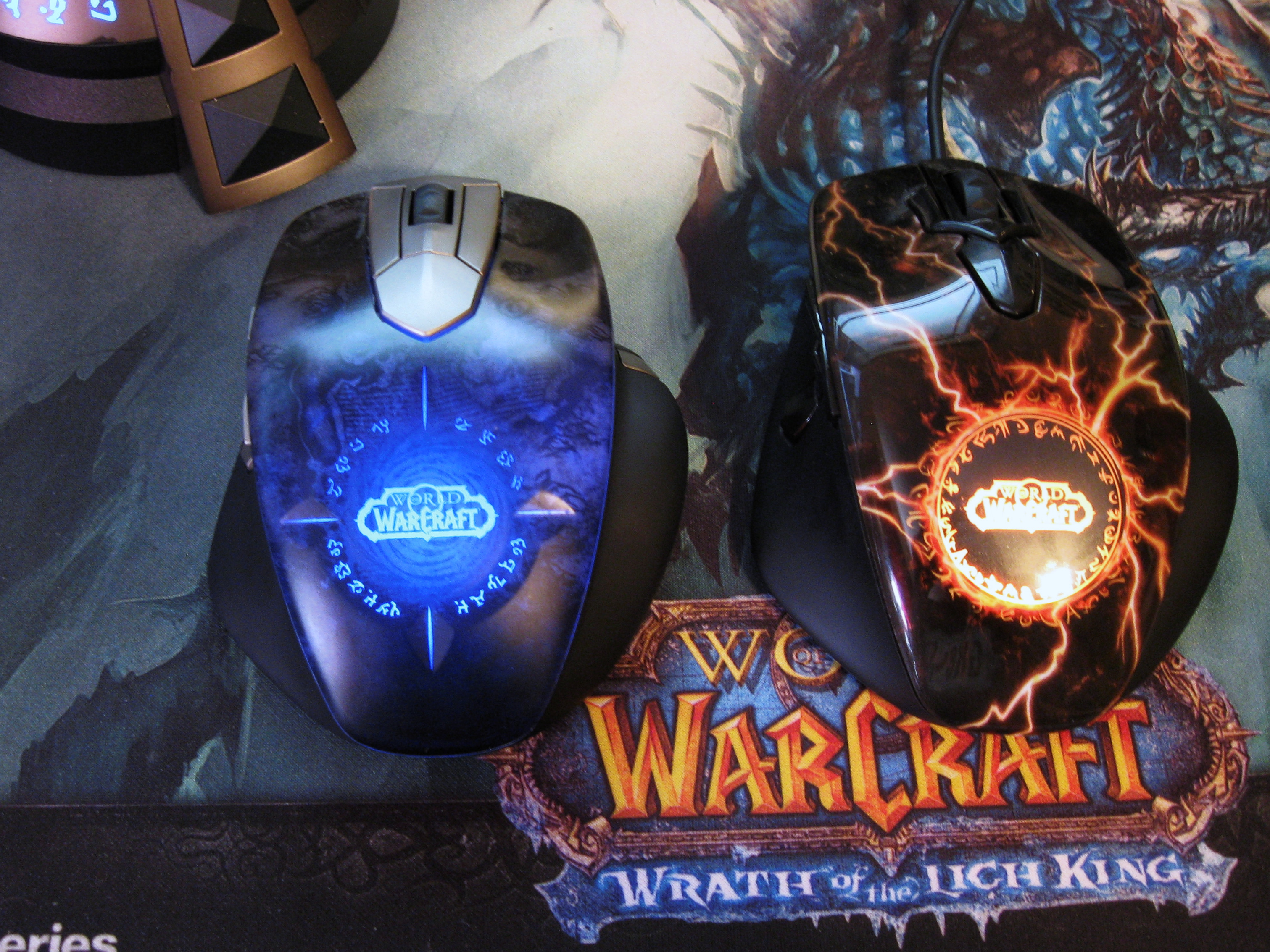 steelseries world of warcraft wireless mmo gaming mouse
