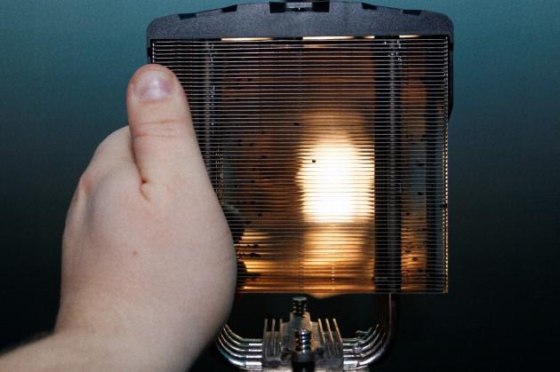 SAPPHIRE VaporX CPU Cooler fins