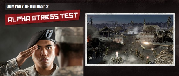 Company of Heroes 2 Alpha Test Registration