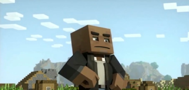 Samuel L Jackson in Minecraft at VGAs