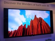 Sony 4KTV at CES 2013