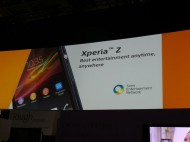 Xperia-Z at CES 2013