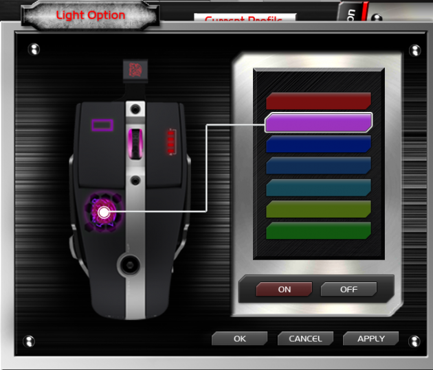 Level 10 M Mouse - Light Color GUI