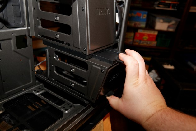 NZXT Phantom 820 hard drive trays