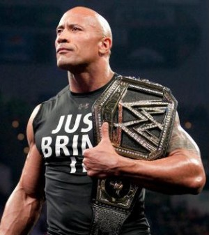 The Rock's new WWE Championship Belt