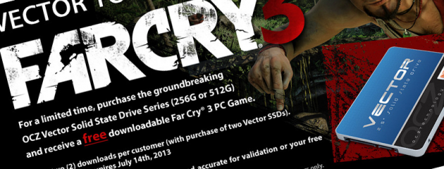 OCZ Far Cry 3 free promotion