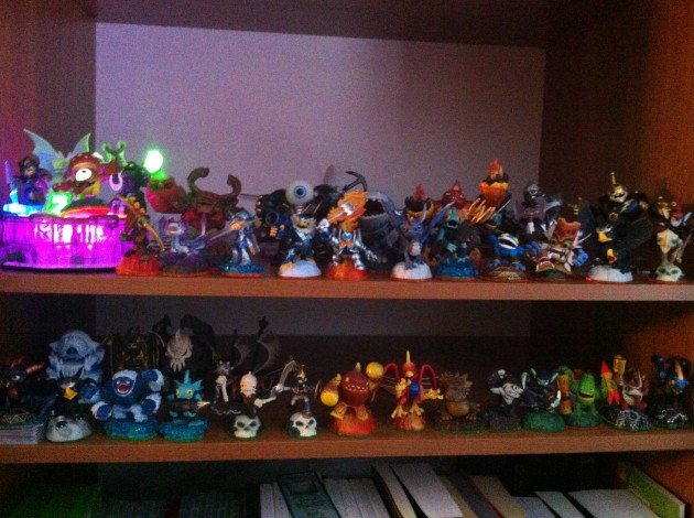 My Skylanders collection