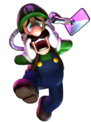 charart luigi's mansion