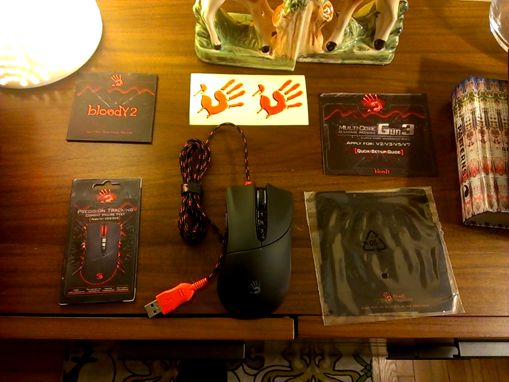 A4TECH V3 Bloody Gun3 Gaming Mouse review « Icrontic