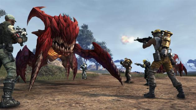 Defiance combat screenshot