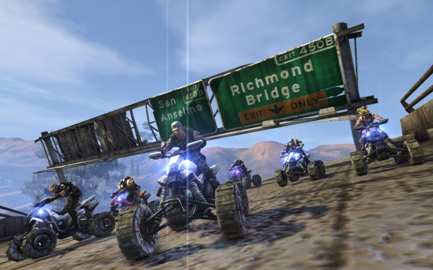 Defiance vehicle screenshot