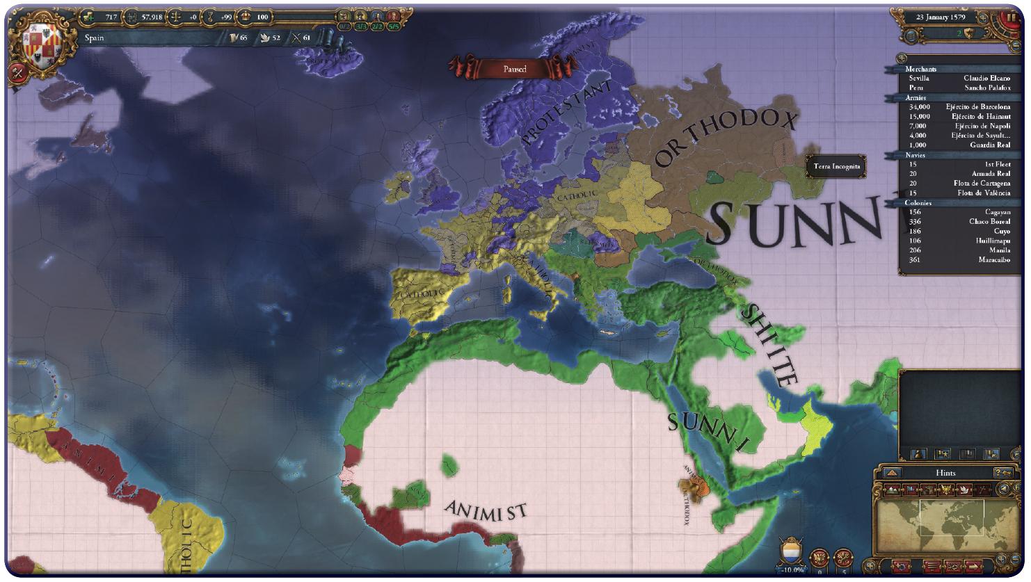 Europa Universalis IV religions
