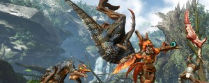 Monster Hunter Online screenshot from CRYENGINE