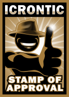 Icrontic Stamp of Approval artwork