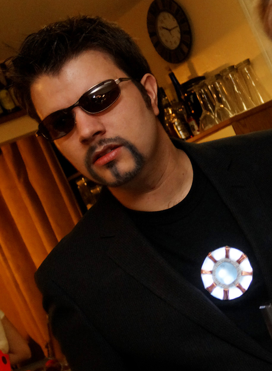 tony stark arc reactor costume